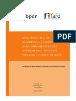 Guia Practica_Incidencia Politica para Org Intermedias en y con Org de Base