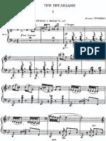 Gershwin.three Preludes