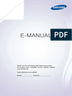 Samsung F8500 TV Manual
