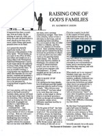 1990 Issue 5 - Raising One of God's Families - Counsel of Chalcedon