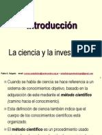 01 La Ciencia y La Investigacion