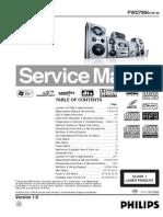 Philips FWD796 Diagrama