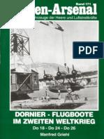 Waffen Arsenal - Band 171 - Dornier Flugboote im Zweiten Weltkrieg - Do 18 - Do 24 - Do 26