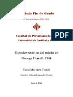 El Poder Retórico Del Miedo en George Orwell