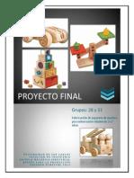 Proyecto Final Completo - Creación Nuevos Productos