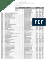 AFP Prevision Listado de PCS de La Seguridad Social de Largo Plazo Diciembre 2013