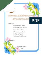 Monografia Control Infecciones Odontología