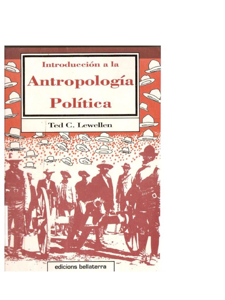Lewellen, Ted - Introduccion a la Antropologia Politica