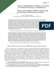 Aran. (2012). Estrato Socioeconomico y Habilidades Cognitivas