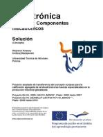 COMPONENTES MECATRONICOS - SOLUCIÓN
