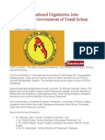 Several International Dignitaries Join Transnational Government of Tamil Eelam (TGTE)Uiyu5