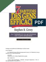 Les 7 Habitudes Des Gens Efficaces