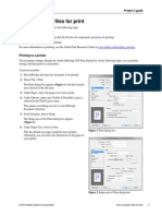 Project 3.10 How to Prepare Files for Print
