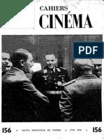 Cahiers Du Cinema 156