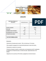 6- Formulas Panaderia y Lacteos