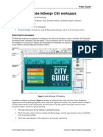Project 3.6 Overview Indesign Workspace