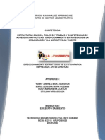 Direccionamiento Estrategico Empresa La Litogarfica Nuevo