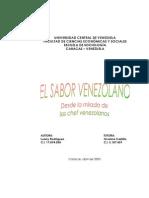 Tesis_SaborVenezolano