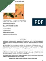 ACUPUNTURA COREANA NAS MÃOS - Dra Simone de Souza