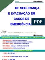 Plano de Segurança e Evacuação Em Casos de Emergência