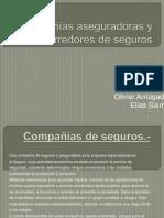 Compañías Aseguradoras y Corredores de Seguros