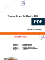 Huawei Training for T156