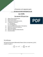 SEGUNDA PARTE ECUACIONES DIFERENCIALES CON SOLUCIONES