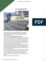 Calentador Solar Gratis Con Botellas PET _ Ecocosas