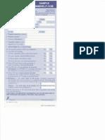 Sample Us Customs Declaration Form 6059b