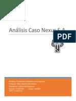Desarrollo Caso Nexus S A