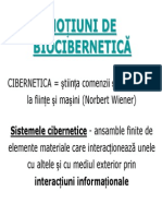 Biocibernetica MG 2010-2011 Prezentare Power Point