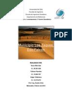 Red Municipal Gps Mcpio Los Taques Falcon