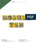 Band Module 10