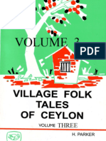 Village Folk Tales of Ceylon -Volume 3  - by   Parker