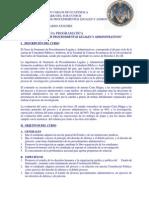 Auditoria Decimo Programa Seminario Proced. Legales y Admos.