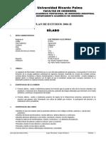 ID 0604 Electricidad y Electr髇ica