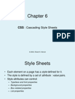 Chapter6 CSS