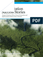 Deforestation Success Stories, 2014
