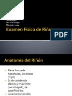 Examen Físico de Riñones