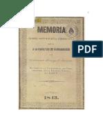 Memoria Sobre Ortografia Americana Leida a La Facultad de Humanidades 1843 0