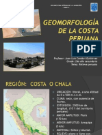 Geomorfología Costeña 2do Año Sec. 2012
