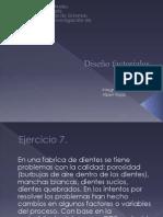 Diseño factoriales presentacion