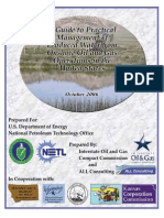 A Guide to Practical Management of Produced Water From Onshore Oil and Gas Operations in the United States