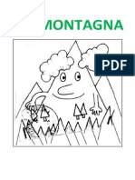 LA MONTAGNA - Disegni Da Colorare