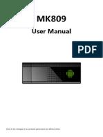 Manual de MK809III
