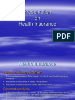 PPT on Health Insurance