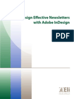 Design Effective Newsletters with Adobe InDesign