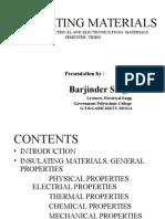 Insulating Materials 2012