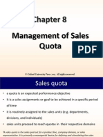Sales Quota Chapter-8