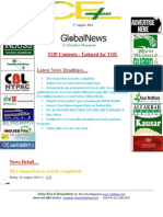 1st August,2014 Daily Global Rice E-Newsletter by Riceplus Magazine
